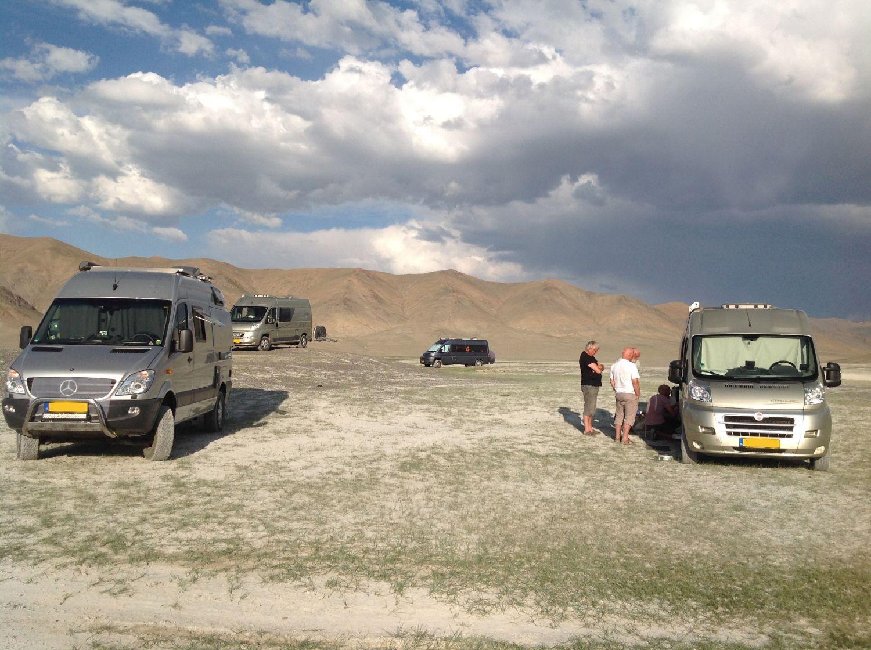 overnachtingsplek in Mongolie