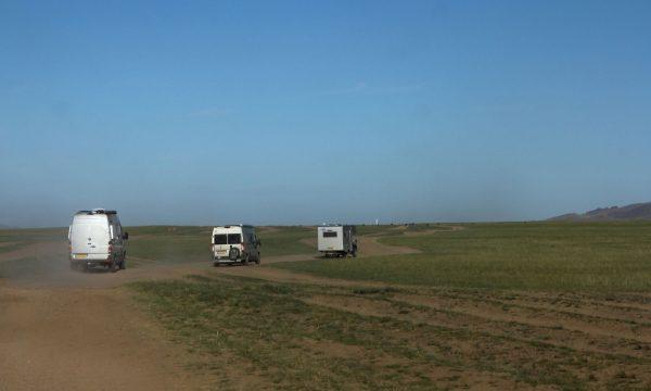 Mongolie: on the road met onze eigen campers
