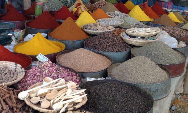 Kruidenmarkt in Rissani