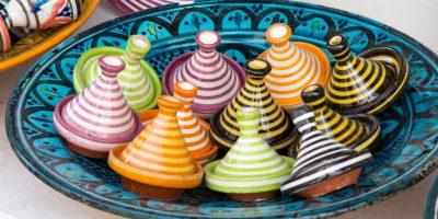 Marokko Mini tajines TME camperreis Marokko Highlights