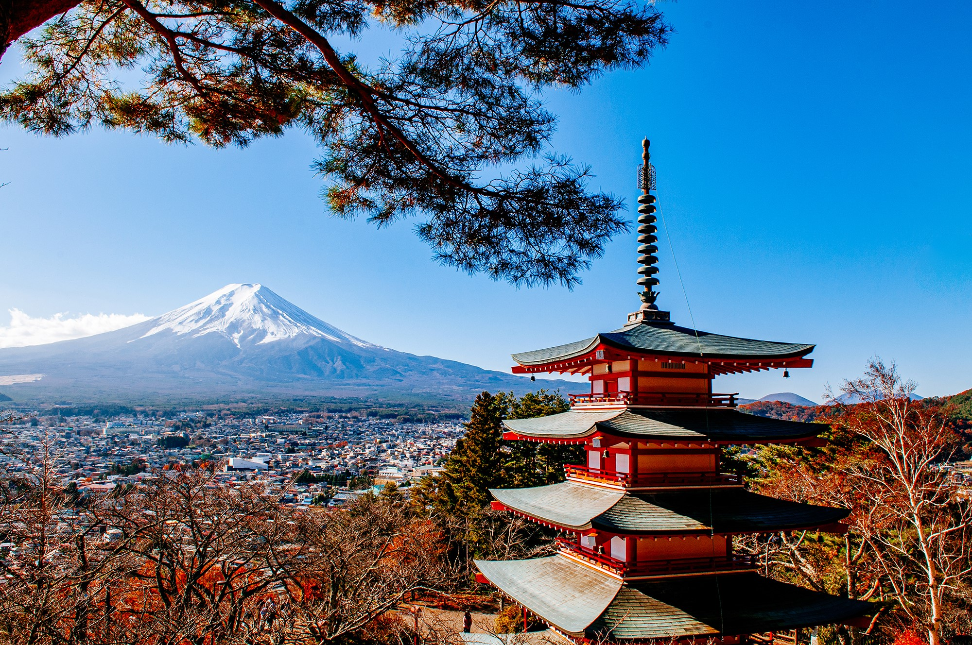 Camperreis Japan in 37 dagen langs Mount Fuji