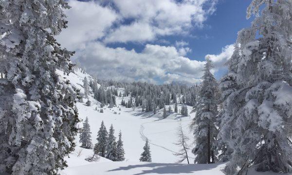 Oostenrijk met de camper naar de sneeuw
