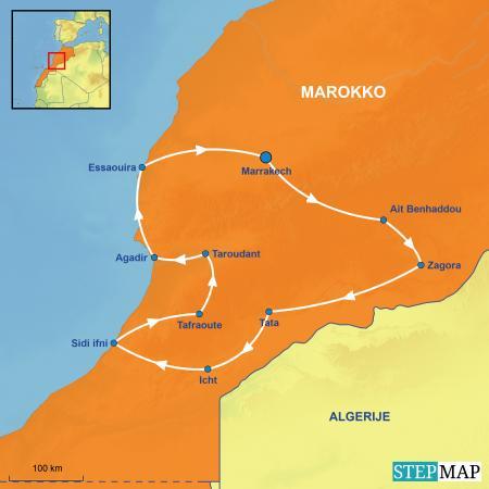 Marokko per huurcamper