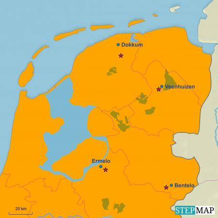 wandelen en kamperen in nederland met de camper
